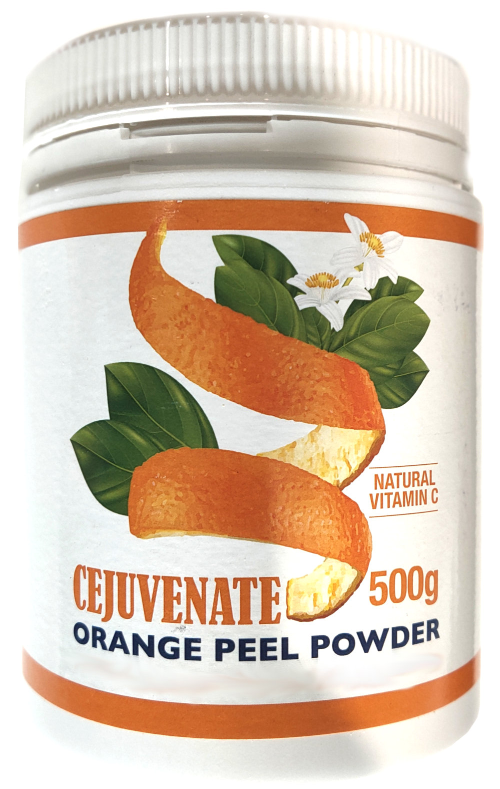 Cejuvenate Natural Vitamin C BioFlavanoids | Orange Peel Powder