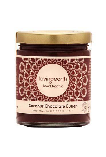 Loving Earth Coconut Chocolate Butter - Raw Organic