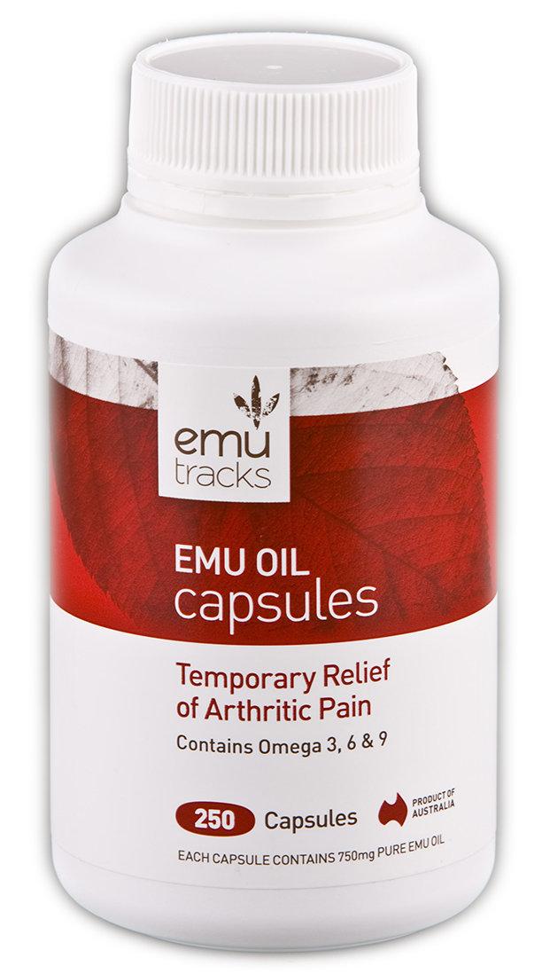 Emu Tracks Pure Emu Oil Capsules