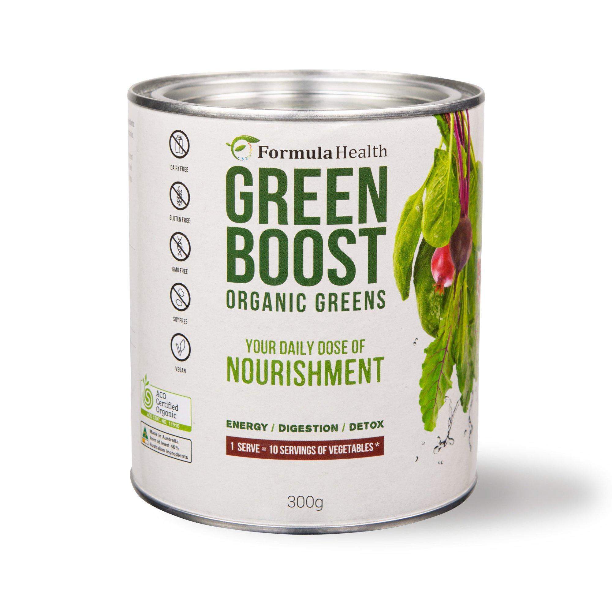 Formula Health Green Boost Organic Greens