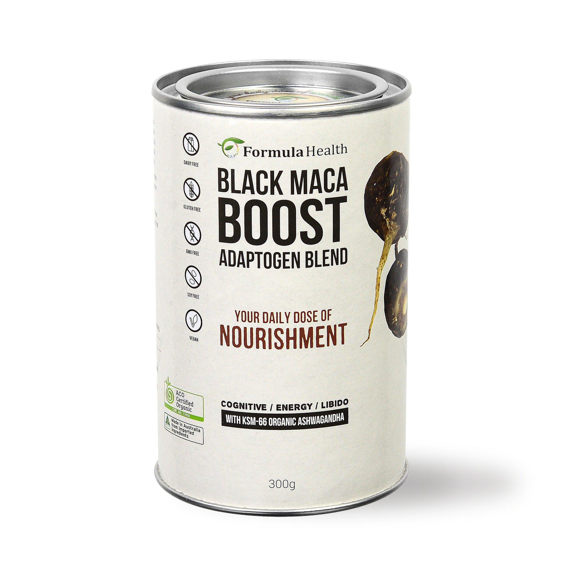 Formula Health Organic Black Maca Boost