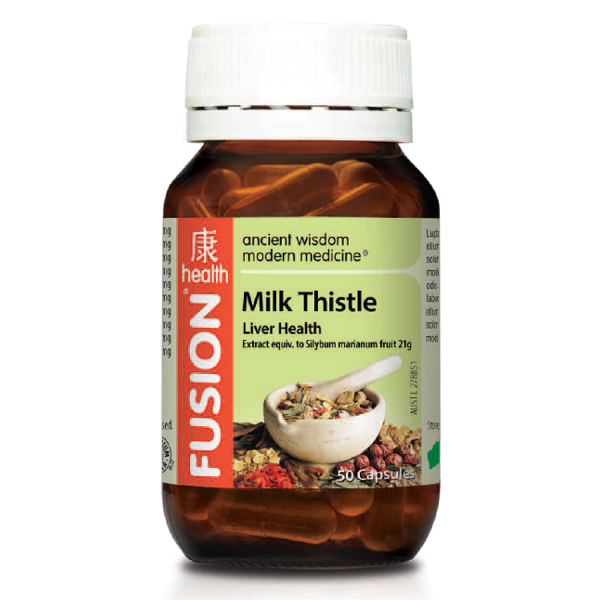 Fusion Health Milk Thistle - Liver Health