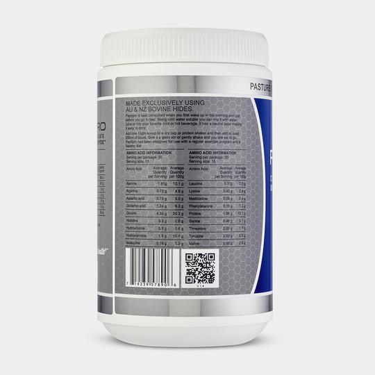 GelPro Peptipro Collagen Hydrolysate Beef Gelatin amino acid profile