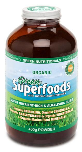 Green Nutritionals Green Superfoods Powder 450g