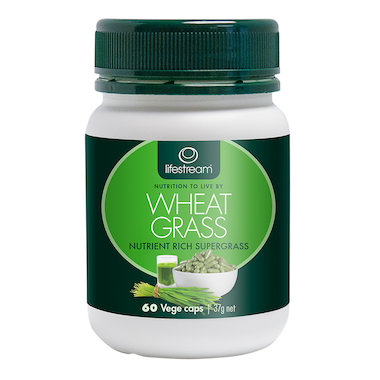 Lifestream Wheat Grass Capsules