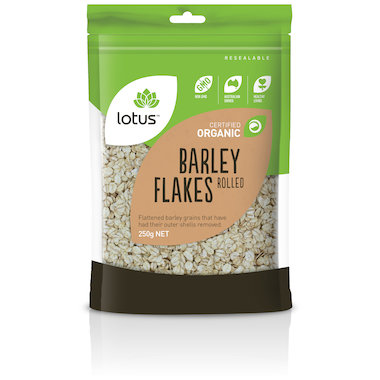 Barley Flakes Rolled Organic 250g