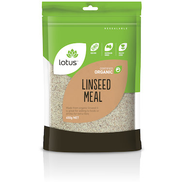 Lotus Linseed (Flaxseed) Meal Organic 450g