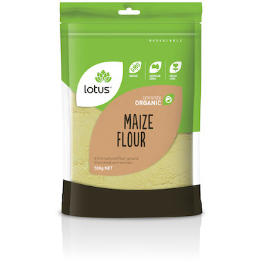Flour - Maize Flour Organic 500g
