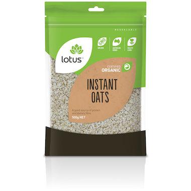 Oats Instant Organic 500g
