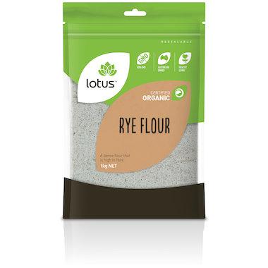 Flour - Rye Flour Organic 1kg