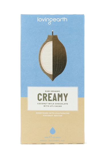 Creamy Coconut Mylk Chocolate - Raw Organic