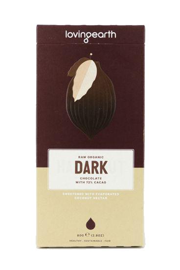 Loving Earth Dark Chocolate - 72% Cacao