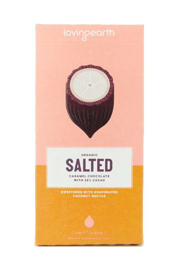 Salted Caramel Chocolate - Raw Organic