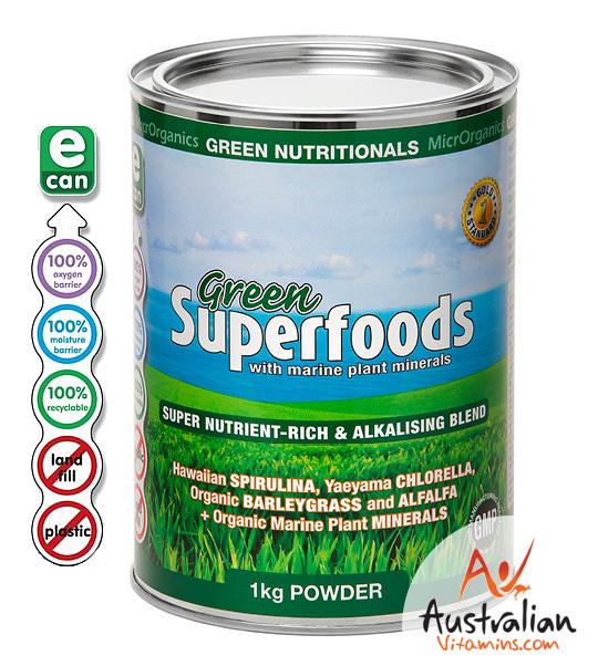 Green Nutritionals Green Superfoods Powder