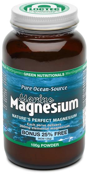 Green Nutritionals Marine Magnesium Powder - Pure Ocean Source