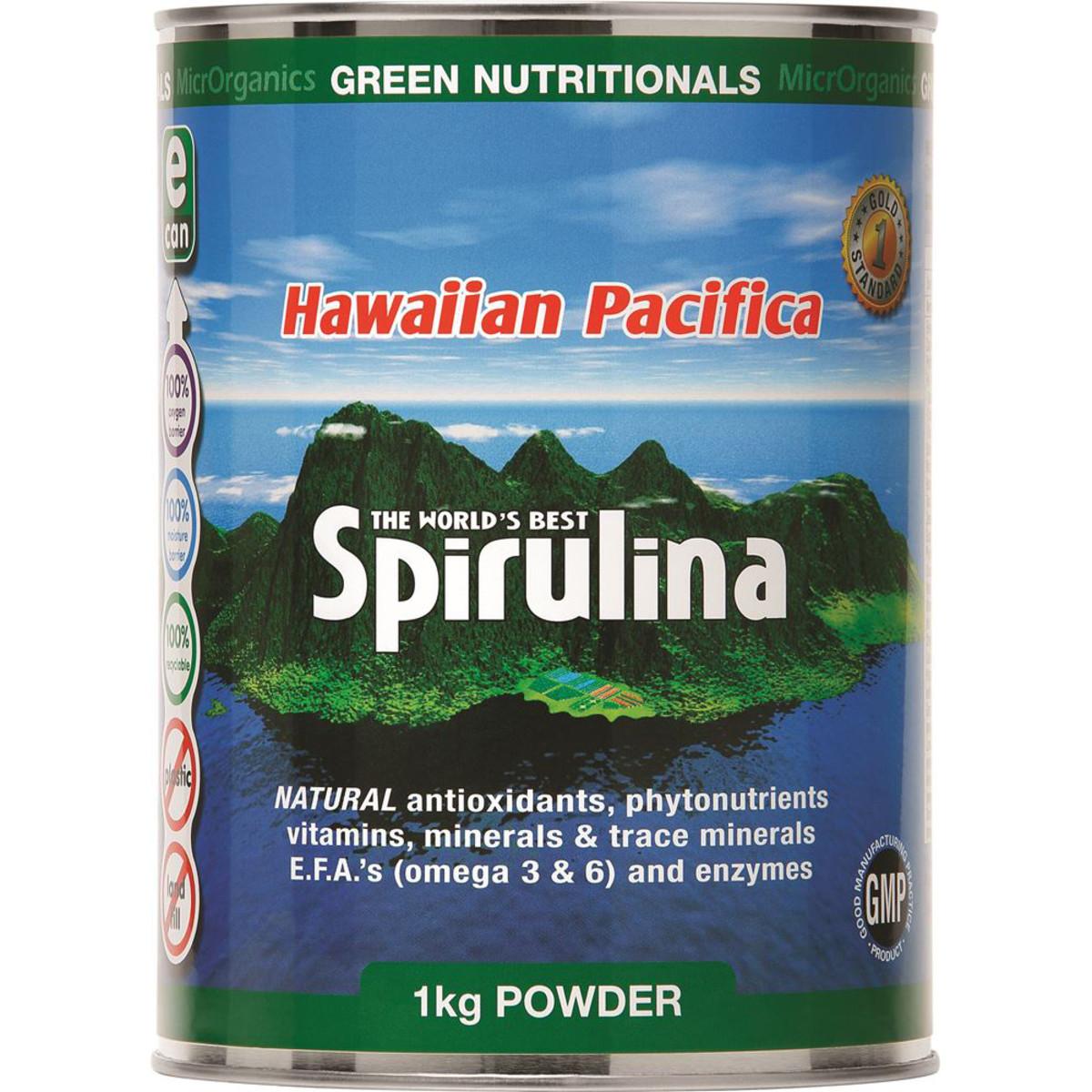 Spirulina Powder - Hawaiian Pacifica Spirulina 1kg