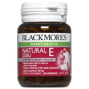 Vitamin E (Natural E 250IU)