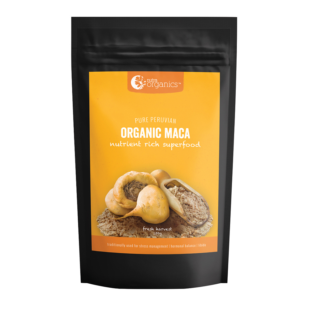 Nutra Organics Maca Powder Organic