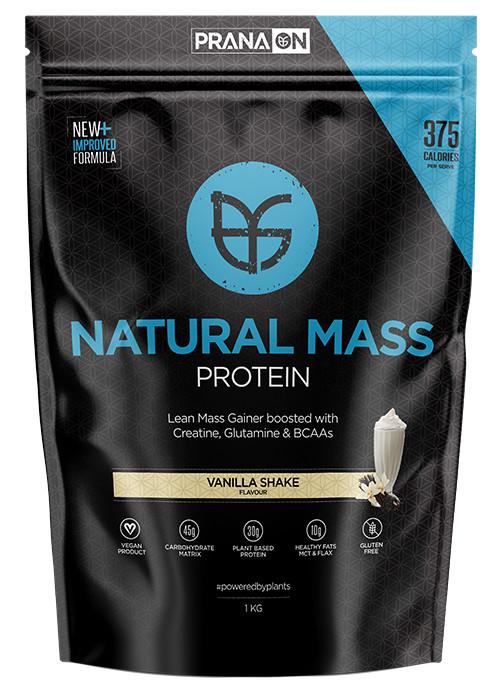 PRANA ON Natural Mass - Vanilla Shake