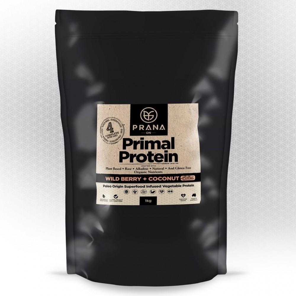 PRANA ON Primal Protein Wild Berry & Coconut