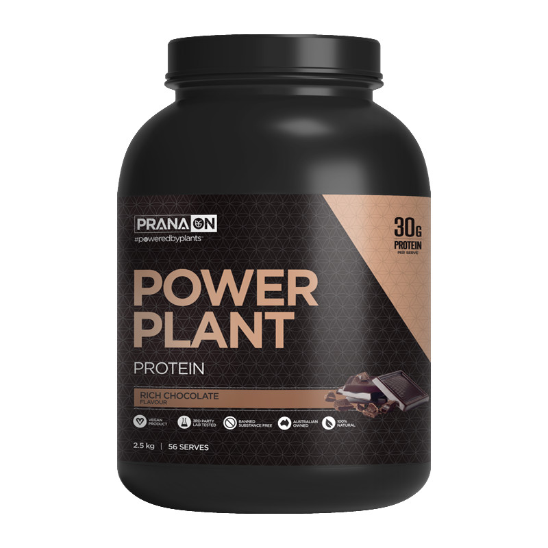 PRANA ON Power Plant Protein - Rich Chocolate 2.5kg
