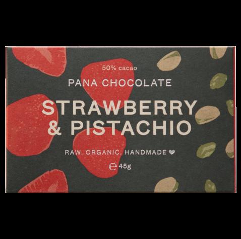 Pana Chocolate Strawberry & Pistachio