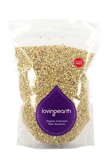 Loving Earth Buckinis Plain :: Activated Raw Organic
