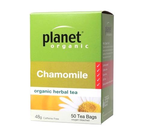 Planet Organic Chamomile Tea - Herbal Teabags