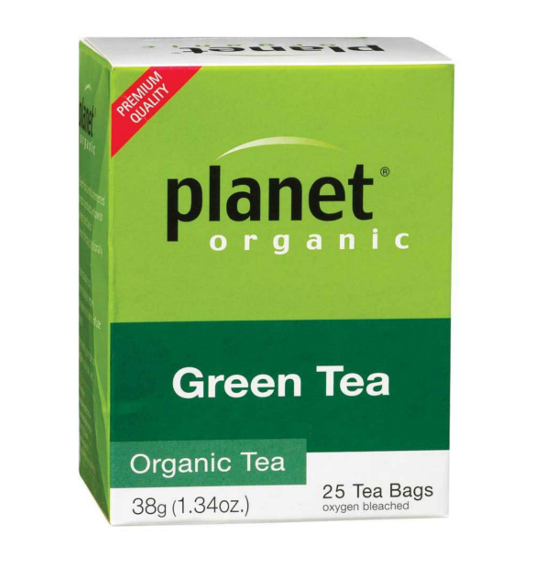 Planet Organic Green Tea - Herbal Teabags