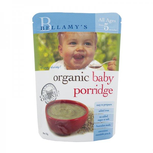 Bellamy's Organic Baby Porridge