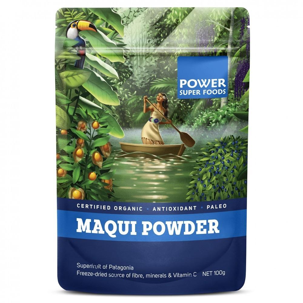 Power Super Foods Maqui Berry Powder Organic