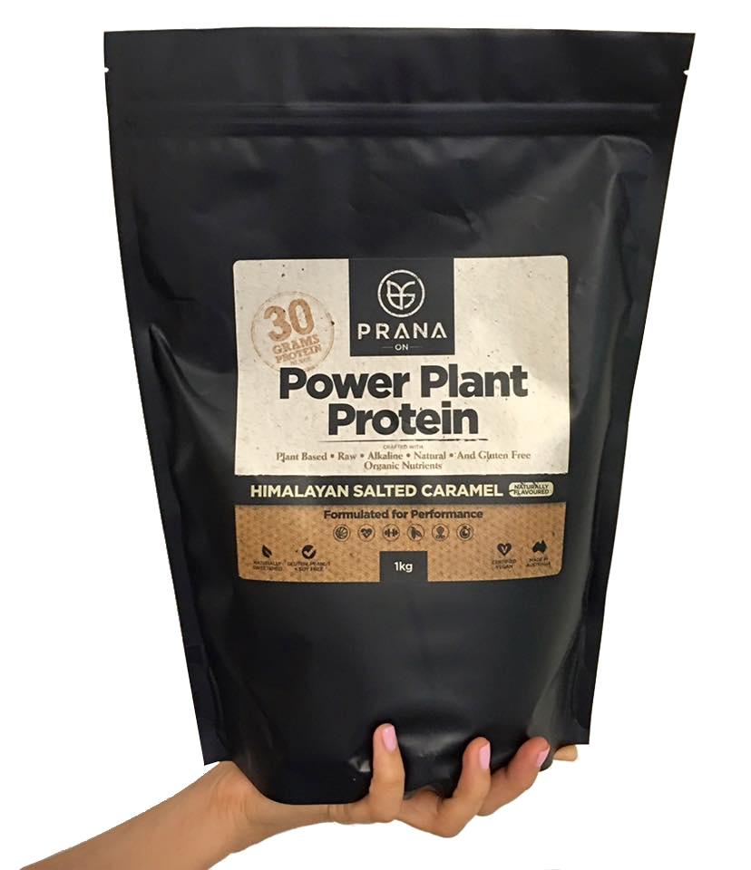 PRANA ON Power Plant Protein - Himalayan Salted Caramel
