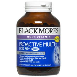 Blackmores Proactive Multi for 50 Plus