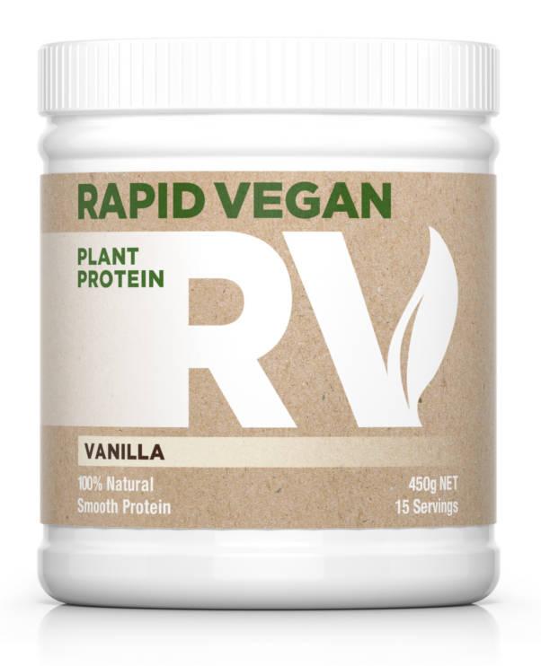 Rapid Vegan Plant Protein | Vanilla 450g