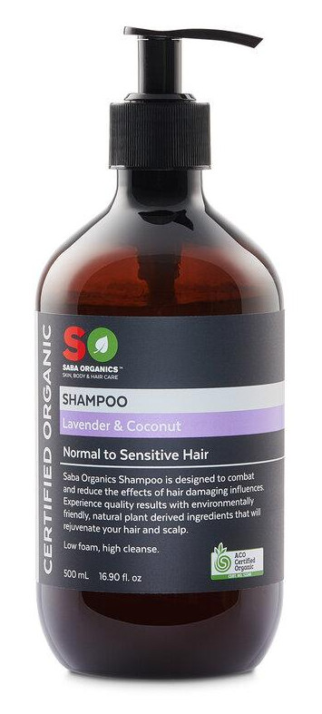 Saba Organics Shampoo Lavender & Coconut