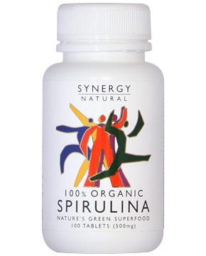 Synergy Organic Spirulina Tablets