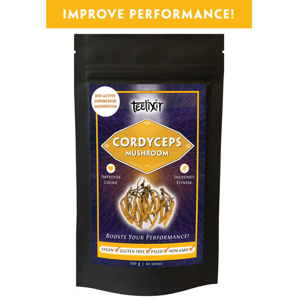 Teelixir Cordyceps Mushroom