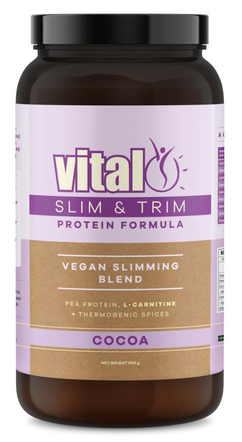 Vital Protein Slim & Trim 500gm | Vegan Slimming Blend