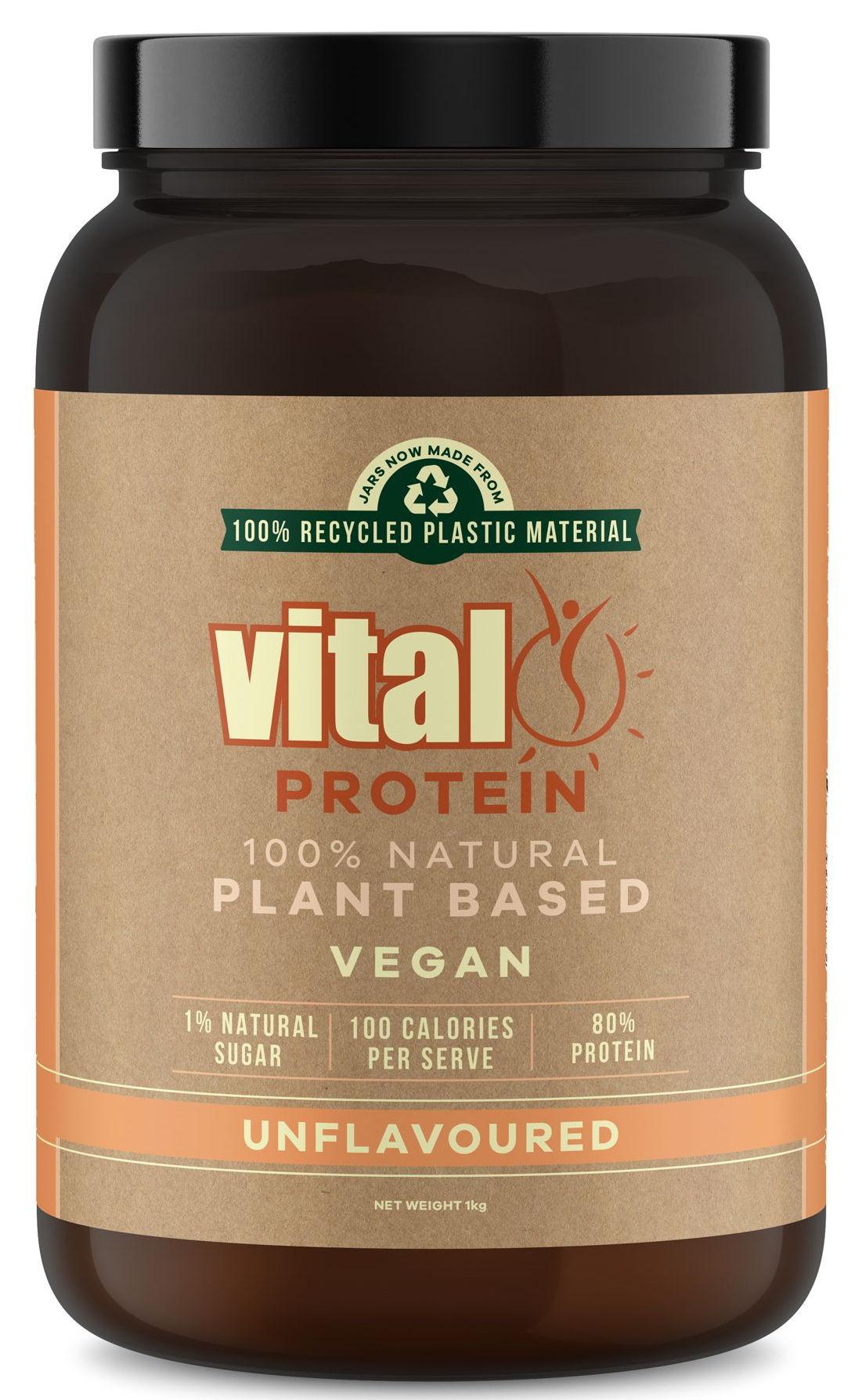Vital Protein 1kg - Vital Protein Unflavoured :: Pea Protein