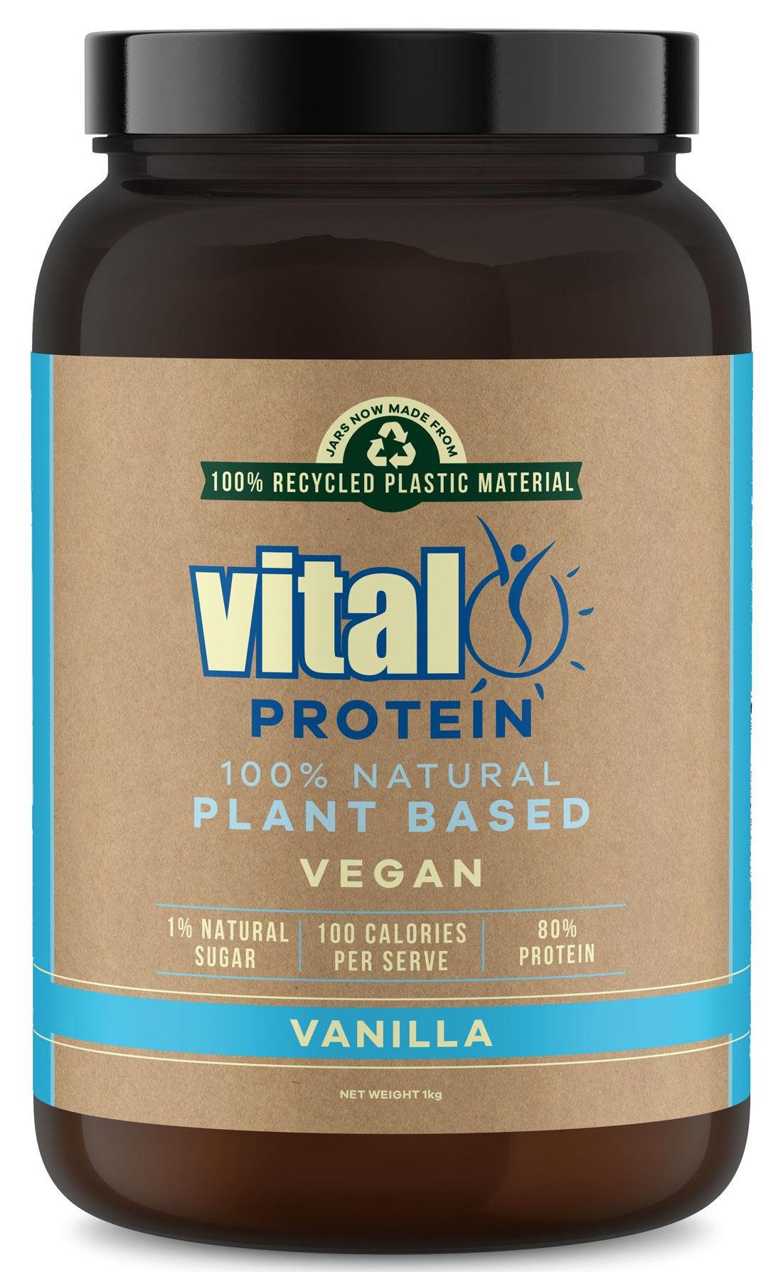 Vital Protein 1kg - Vanilla Pea Protein