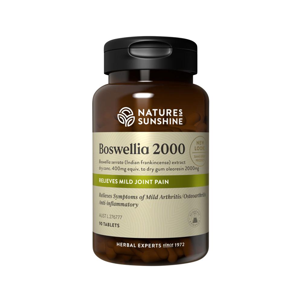 Nature's Sunshine Boswellia 2000 Tablets
