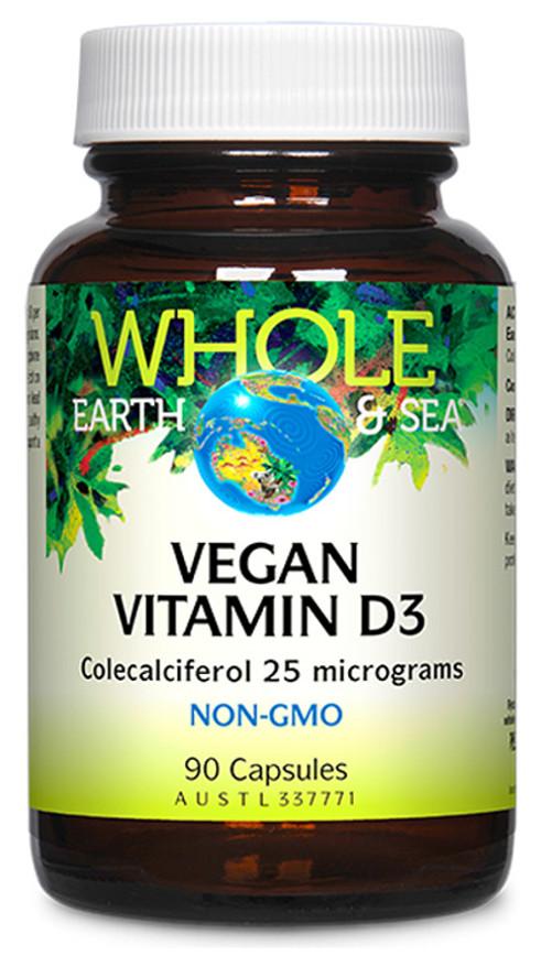 Whole Earth & Sea Vegan Vitamin D3