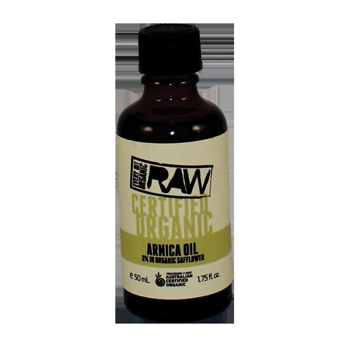 Every Bit Organic Arnica Oil 3% in organic safflower