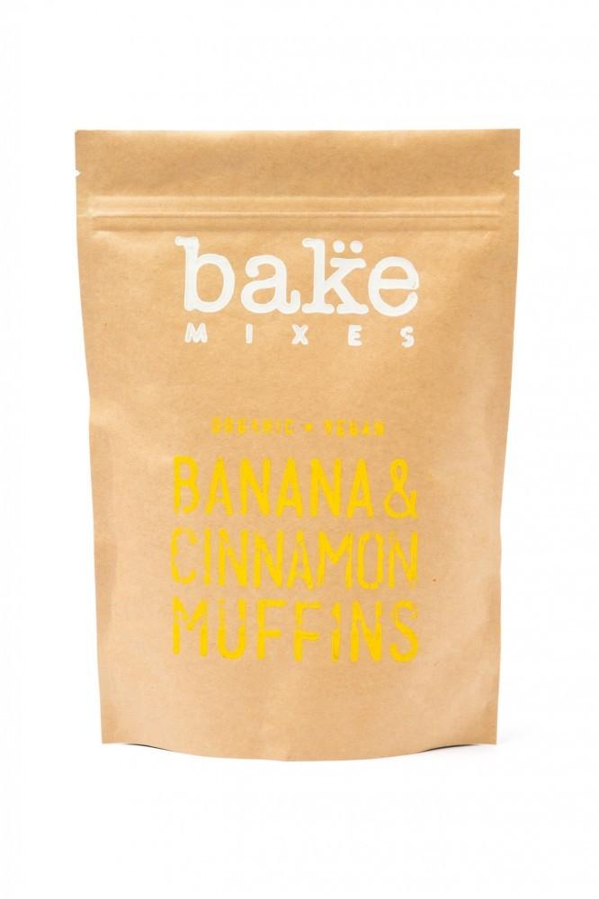 Banana & Cinnamon Muffin Mix - Organic Vegan