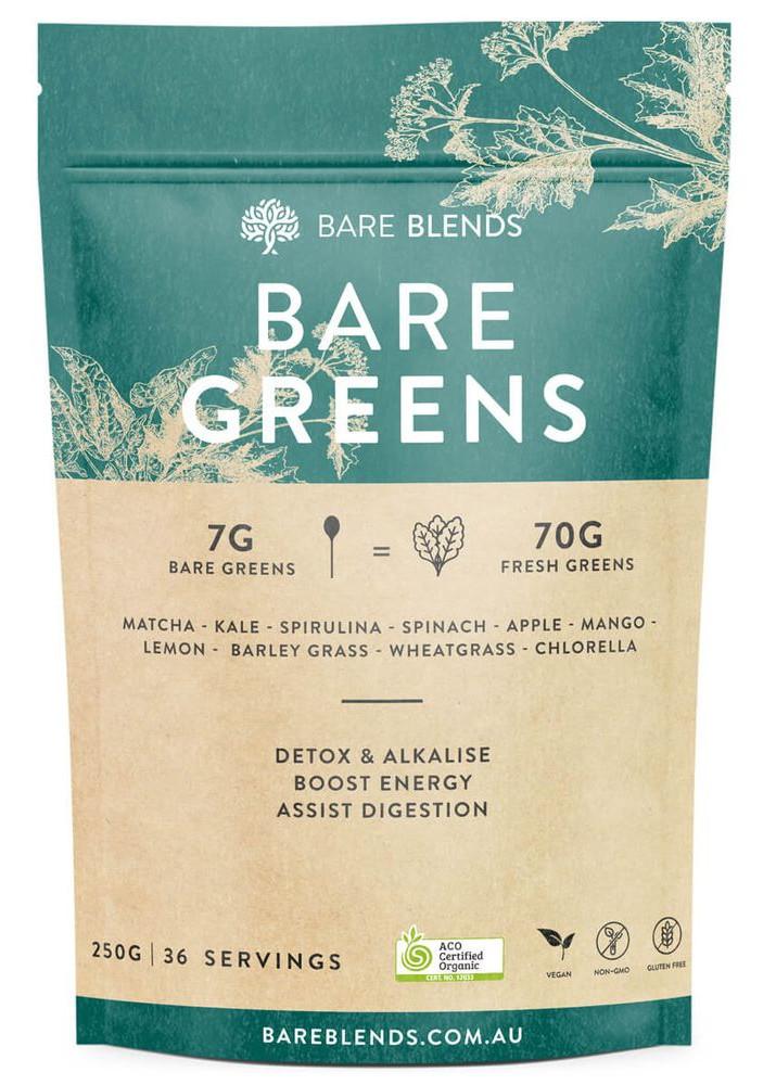 Bare Blends Bare Greens