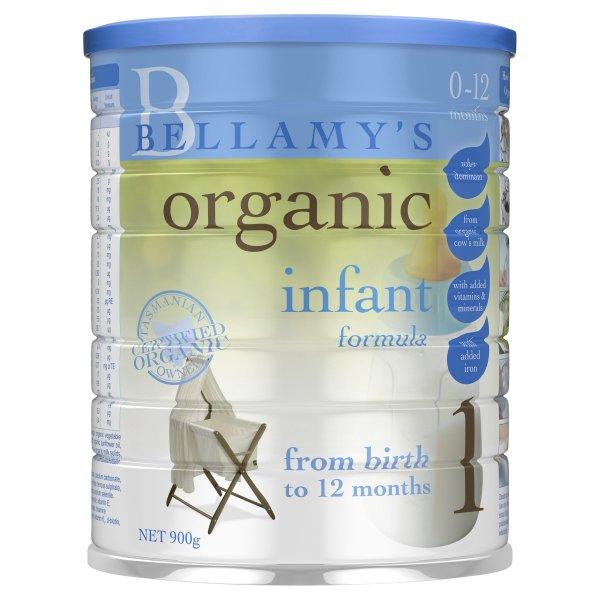 Bellamy's Step 1 Organic Infant Formula