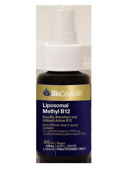 BioCeuticals Liposomal Methyl B12 Spray