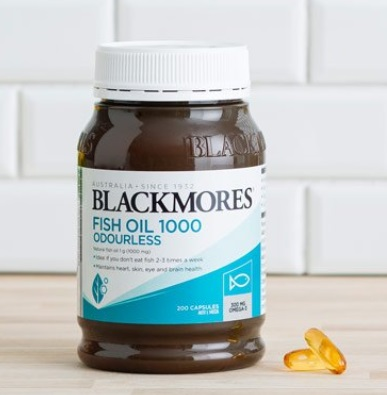 Blackmores Fish Oil 1000 | Odourless
