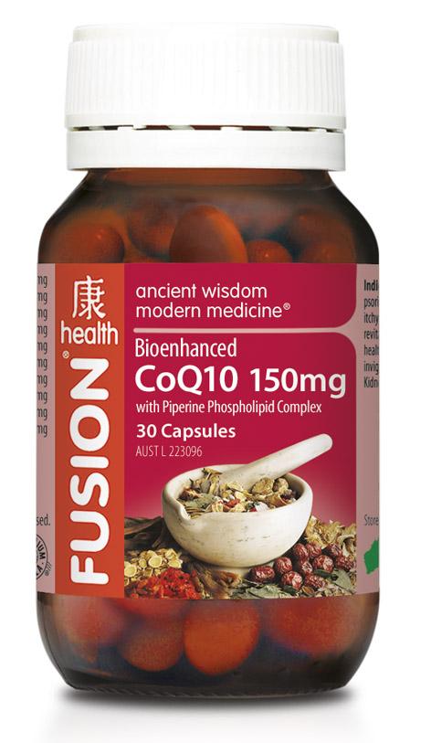 Fusion CoQ10 150mg - Coenzyme Q10