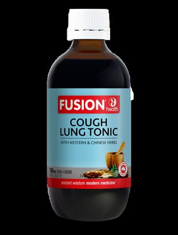 Fusion Cough Lung Tonic Liquid
